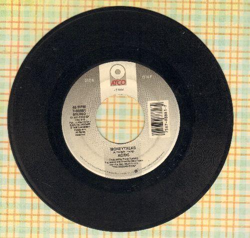 AC/DC - Moneytalks/Borrowed Time - VG7/ - 45 rpm Records