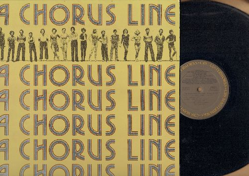 A Chorus Line - A Chorus Line - Original Broadway Cast Recording (Vinyl STEREO LP record, gate-fold cover first pressing) - NM9/NM9 - LP Records