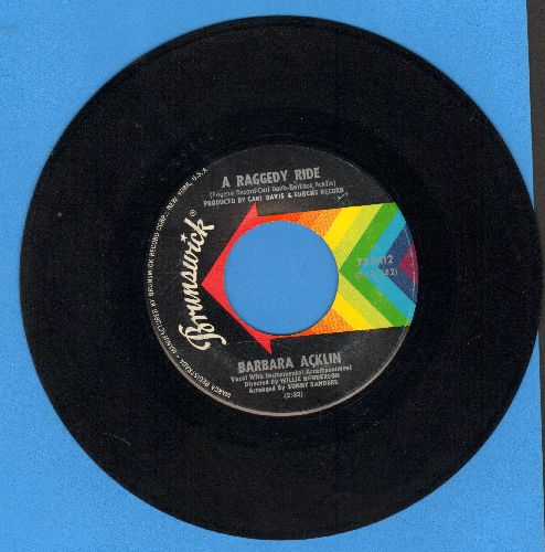 Acklin, Barbara - A Raggedy Ride/Seven Days Of Night - EX8/ - 45 rpm Records