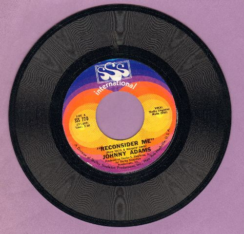 Adams, Johnny - Reconsider Me/If I Could See You One More Time - NM9/ - 45 rpm Records