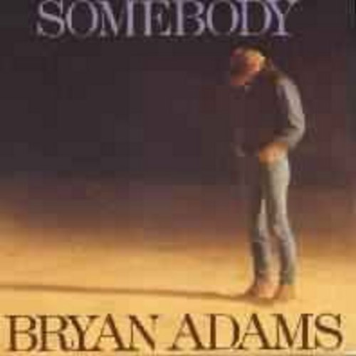 Adams, Bryan - Somebody/Long Gone (with picture sleeve) - EX8/VG7 - 45 rpm Records