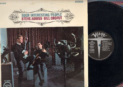Addiss, Steve & Bill Crofut - Such Interesting People: Coulter's Candy, Willow Weep For Me, The Missile Song, 12 Days With Khrusshchev, Our King Went Forth (vinyl STEREO LP record) - NM9/VG7 - LP Records