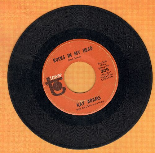 Adams, Kay - Rocks In My Head/Trapped - VG7/ - 45 rpm Records