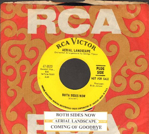 Aerial Landscape - Both Sides Now/Coming Of Goodbye (DJ advance pressing with RARE vintage RCA company sleeve and juke box label) - NM9/ - 45 rpm Records