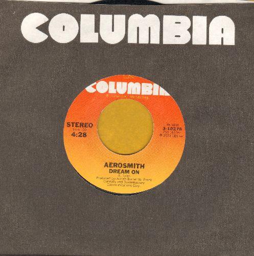 Aerosmith - Dream On/Somebody (with Columbia company sleeve) - NM9/ - 45 rpm Records
