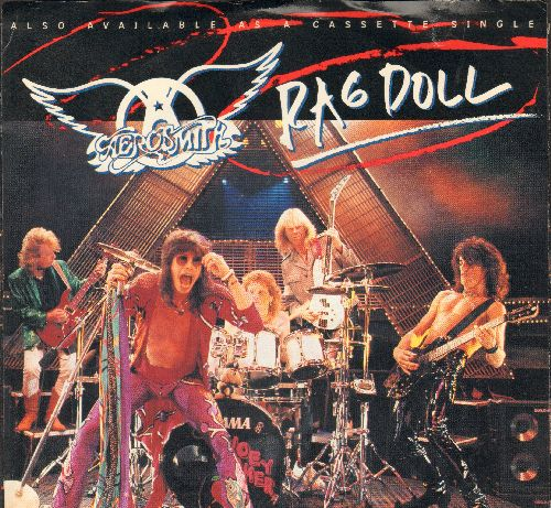 Aerosmith - Rag Doll/St. John (with picture sleeve) - NM9/EX8 - 45 rpm Records