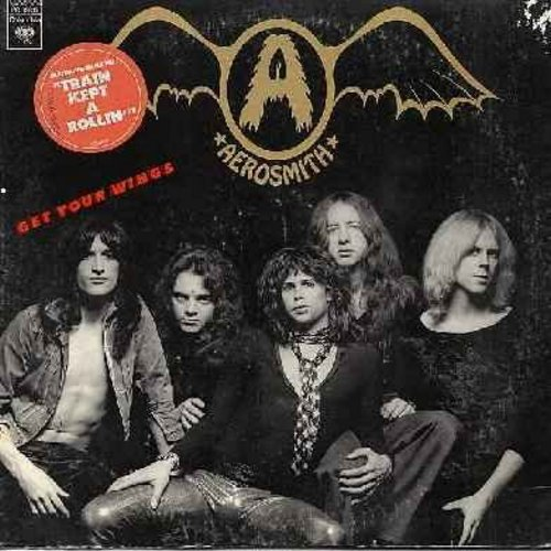 Aerosmith - Get Your Wings: Lord Of The Thighs, Same Old Song And Dance, S.O.S. (So Bad), Pandora's Box, Seasons Of Wither (Vinyl LP record) (reissue) - VG7/VG6 - LP Records