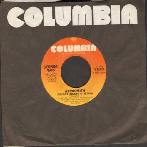 Aerosmith - Remember (Walking In The Sand)/Bone To Bone (Coney Island White Fish Boy) - EX8/ - 45 rpm Records