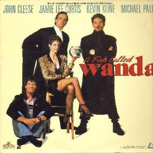 A Fish Called Wanda - A Fish Called Wanda - The Cult Classic Comedy starring John Cleese, Jamie Lee Curtis and Oscar Winner Kevin Kline - This is a LASERDISC VERSION, NOT ANY OTHER KIND OF MEDIA! - NM9/EX8 - LaserDiscs