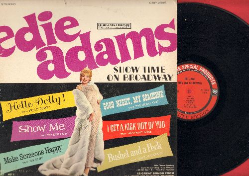 Adams, Edie - Show Time On Broadway: Hello Dolly!, Make Someone Happy, Bushel And A Peck, Show Me (Vinyl STEREO LP record, Columbia Special Products) - NM9/VG7 - LP Records