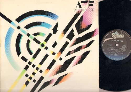 After The Fire - ATF: Laser Love, One Rule For You, Dancing In The Shadows, Sometimes, Sailing Ship, Carry Me Home, Frozen Rivers, Love Will Always Make You Cry, Starflight, Der Kommissar, 1980-F (Vinyl LP Record) - NM9/EX8 - LP Records