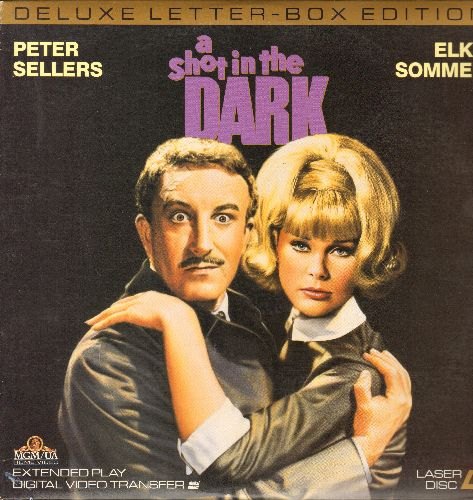 A Shot In The Dark - A Shot In The Dark - Deluxe Letter-Box Edition LASERDISC of the MGM Comedy Classic Starring Peter Sellers and Elke Sommer (This is a LASERDISC, not any other kind of media!) - NM9/NM( - LaserDiscs