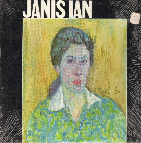Ian, Janis - Janis Ian: Society's Child, Go 'Way Little Girl, I'll Give You A Stone If You'll Throw It (Changing Tymes), Hair Of Spun Gold (Vinyl MONO LP record, 1967 first pressing, strill has shrink wrap!) - NM9/NM9 - LP Records