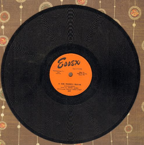 Dawn, Sunny - A Girl Friend's Prayer/There's Always Someone Beside You (10 inch 78 rpm record) - EX8/ - 78 rpm