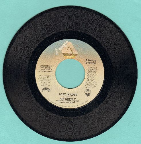 Air Supply - Lost In Love/I Don't Want To Lose You - EX8/ - 45 rpm Records