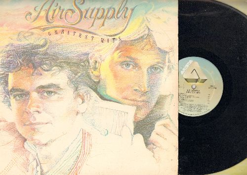 Air Supply - Greatest Hits: Lost In Love, The One That You Love, Every Woman In The World, All Out Of Love (vinyl STEREO LP record) - NM9/EX8 - LP Records