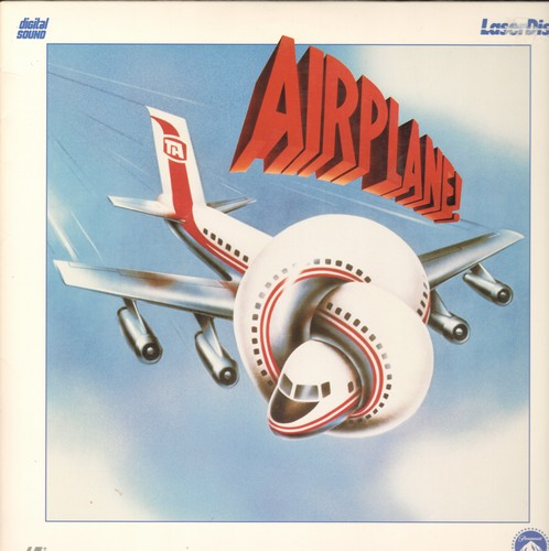 Airplane! - Airplane! - LASER DISC of the Cult Classic Comedy (This is a LASER DISC, not any other kind of media!) - NM9/EX8 - Laser Discs
