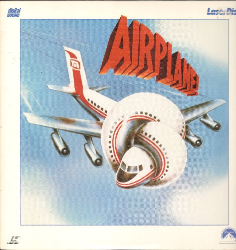 Airplane! - Airplane! - LASER DISC Version of the Cult-Classic Disater-Movie-Spoof (This is a LASER DISC, NOT any other kind of media!) - NM9/EX8 - Laser Discs