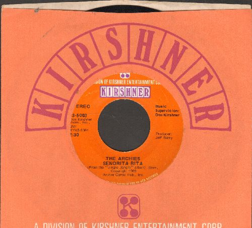 Archies - Senorita Rita/Who's Your Baby? (with Kirshner company sleeve) - NM9/ - 45 rpm Records