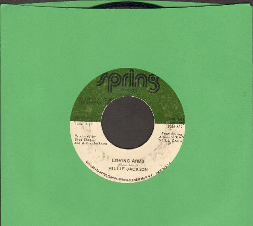 Jackson, Millie - Loving Arms/Leftovers - EX8/ - 45 rpm Records