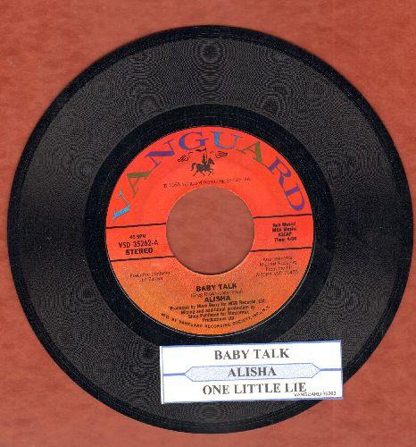 Alisha - Baby Talk/One Little Lie (with juke box label) - NM9/ - 45 rpm Records