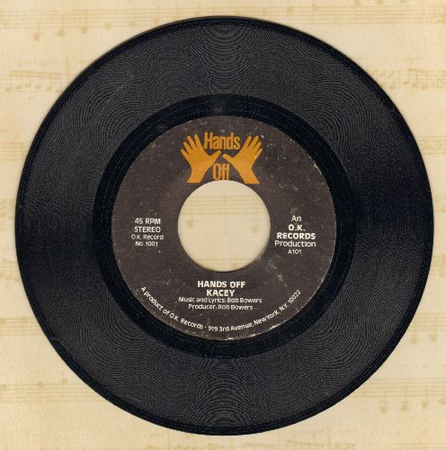 Kasey - Hands Off/Burnin' In My Soul - NM9/ - 45 rpm Records