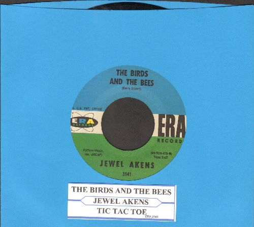 Akens, Jewel - The Birds And The Bees/Tic Tac Toe (wol) - VG7/ - 45 rpm Records