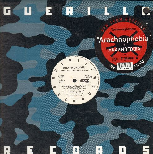 Araknofobia - Arachnophobia (Black Widow)/Arachnophobia (I Want You) (12 inch vinyl Maxi Single with picture cover) - NM9/EX8 - Maxi Singles