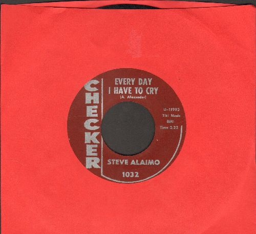 Alaimo, Steve - Every Day I Have To Cry/Little Girl (DJ advance pressing) - EX8/ - 45 rpm Records