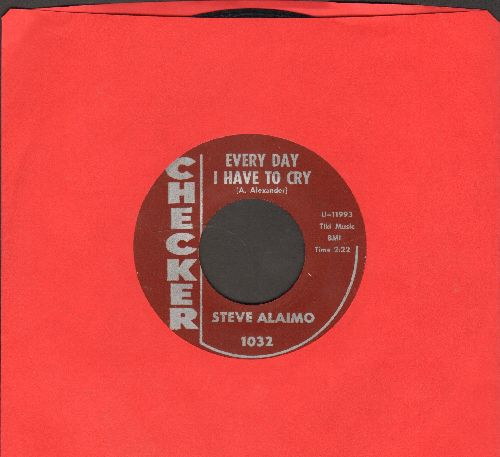 Alaimo, Steve - Every Day I Have To Cry/Little Girl (Please Take A Chance With Me) (burgundy label early issue) - EX8/ - 45 rpm Records