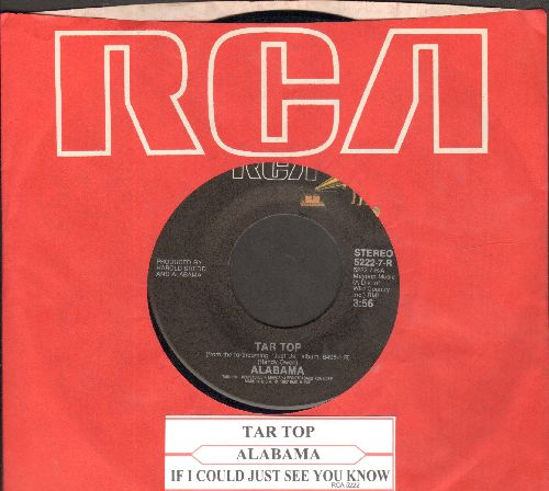 Alabama - Tar Top/If I Could Just See You Now (with RCA company sleeve) - EX8/ - 45 rpm Records