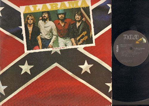 Alabama - Mountain Music: Mountain Music, Close Enough To Perfect, Words At Twenty Paces, Changes Comin' On, Green River, Take Me Down, You Turn Me On, Never Be One, Lovin' You Is Killin' Me, Gonna Have A Party (Vinyl LP Record Stereo) - EX8/VG7 - LP Reco