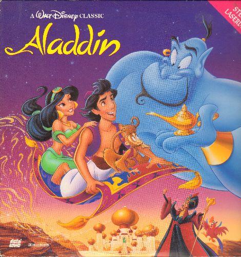 Disney - Aladdin - LASERDISC version of the Disney Classic - NM9/EX8 - LaserDiscs