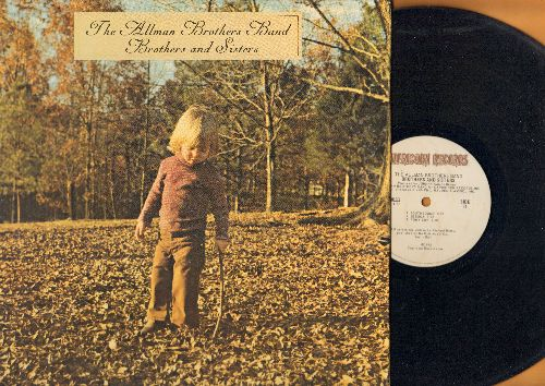 Allman Brothers Band - Brothers And Sisters: Ramblin Man, Wasted Words, Jelly Jelly, Southbound, Pony Boy (vinyl LP recod, gate-fold cover) - EX8/EX8 - LP Records