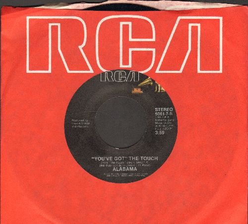 Alabama - You've Got The Touch/True, True Housewife (with RCA company sleeve) - NM9/ - 45 rpm Records