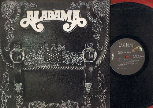 Alabama - Feels So Right: Love In The First Degree, Ride The Train, Hollywwod, Old Flame, Burn Georgia Burn (vinyl STEREO LP record) - NM9/EX8 - LP Records