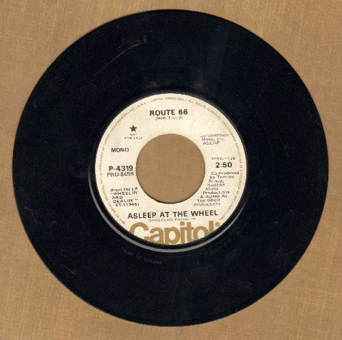 Asleep At The Wheel - Route 66 (double-A-sided DJ advance pressing) - EX8/ - 45 rpm Records