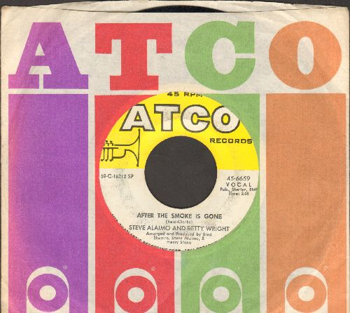 Alaimo, Steve & Betty Wright - After The Smoke Is Gone/I'm Thankful (with Atco company sleeve) - EX8/ - 45 rpm Records