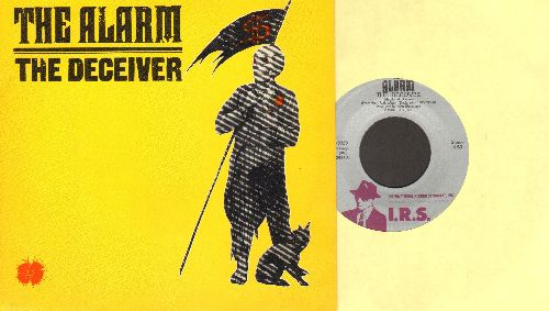 Alarm - The Deceiver/Second Generation (with picture sleeve) - NM9/NM9 - 45 rpm Records