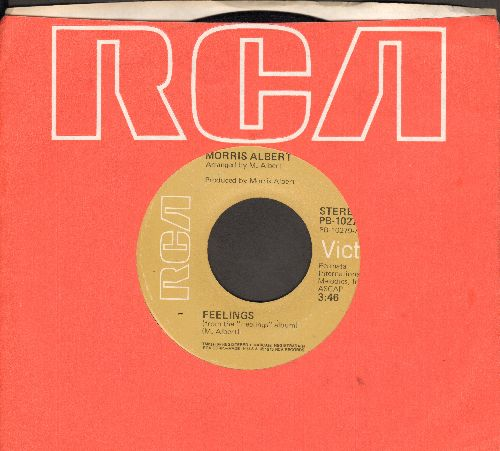 Albert, Morris - Feelings/This World Today Is A Mess (cover version of Donna Hightower Euro-Hit) - EX8/ - 45 rpm Records