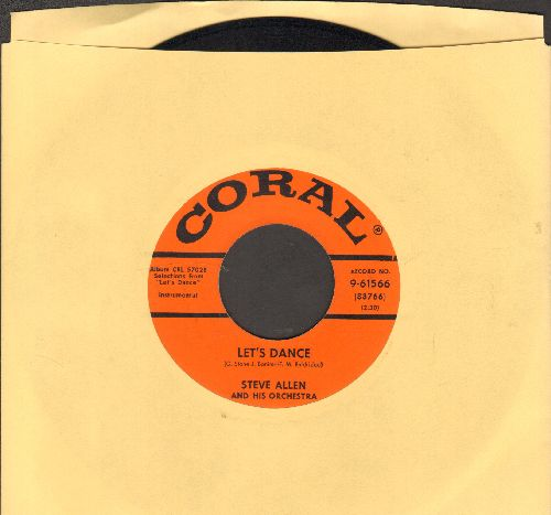 Allen, Steve - Let's Dance/Goodbye - EX8/ - 45 rpm Records