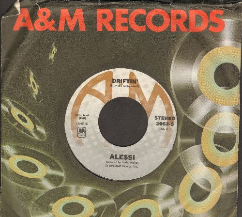 Alessi - Driftin'/Just Can't Stop It (with A&M company sleeve) - M10/ - 45 rpm Records