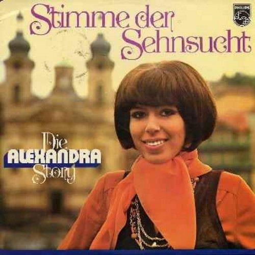 Alexandra - Die Alexandra Story: Sehnsucht (Das Lied der Taiga), Illusionen, Mein Freund der Baum, Ja lublu tebja (Ich liebe dich), Zigeunerjunge, Der Traum vom Fliegen, Erstes Morgenrot (2 vinyl LP record set - Original German first issue) - NM9/NM9 - LP