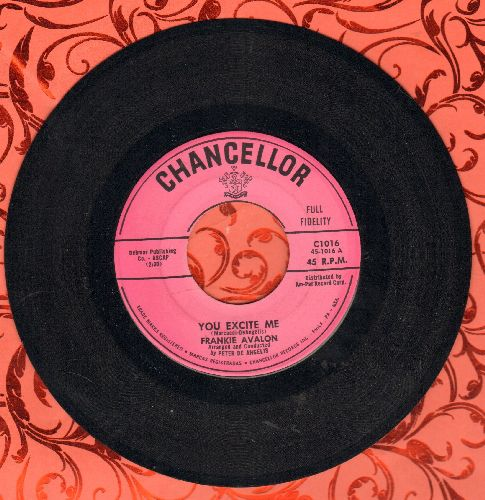 Avalon, Frankie - You Excite Me/Darlin' - NM9/ - 45 rpm Records