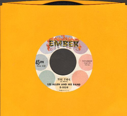 Allen, Lee & His Band - Tic Toc/Chuggin' - EX8/ - 45 rpm Records
