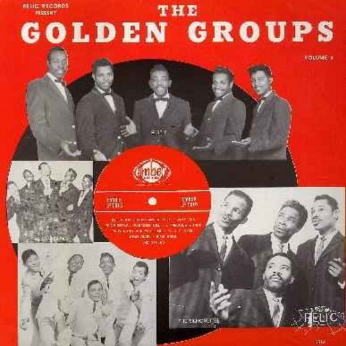 Allen, Lee, Starlarks, Silhouettes, Marktones, Edsels, others - The Golden Groups Part 6 - The Best Of Ember Records: Walking With Mr. Lee, Get A Job, Dear Diary, Why Don't You Write Me, Voodoo Eyes, Maryann, Send Me A Picture Baby (vinyl LP record, re-is