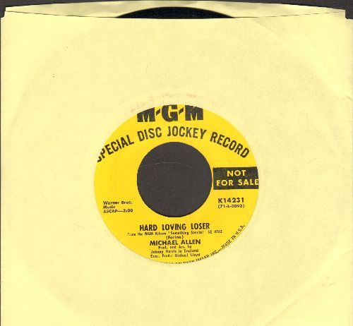 Allen, Michael - Hard Loving Loser/I Have Dreamed (DJ advance pressing) - NM9/ - 45 rpm Records