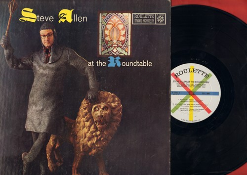Allen, Steve - Steve Allen At The Roundtable: Roundtable Boogie, I Got Rhythm, Even Stephen (Vinyl MONO LP record) - NM9/VG7 - LP Records