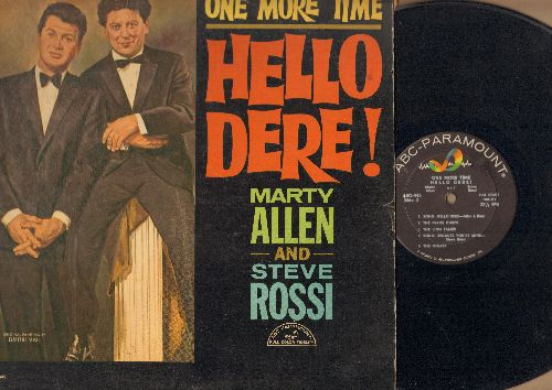Allen, Marty & Steve Rossi - One More Time - Hello Dere! (Vinyl MONO LP record) - EX8/VG7 - LP Records