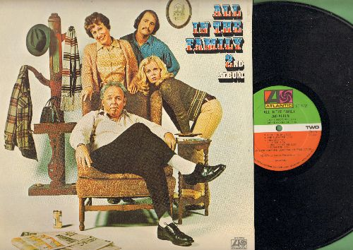 O'Connor, Carroll, Jean Stapleton, Sally Struthers, Rob Reiner - All In The Family 2nd Album:  Breasts, Hog Jowls, The Man In The Street, Archie & Maude, Change Of Life, more scenes from the Classic Sit-Com (vinyl STEREO LP record) - NM9/EX8 - LP Records